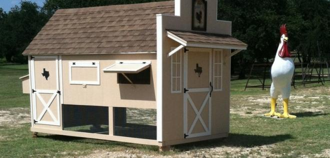Coop Options By Texas Chicken Coops