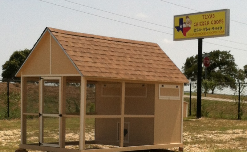 Contact us texas chicken coops in granbury texas 254 434 9449 for Fancy chicken coops for sale